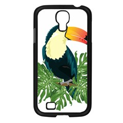 Tropical Birds Samsung Galaxy S4 I9500/ I9505 Case (black)