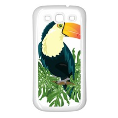 Tropical Birds Samsung Galaxy S3 Back Case (white)