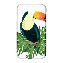 Tropical Birds Samsung Galaxy S4 Classic Hardshell Case (pc+silicone)