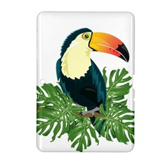 Tropical Birds Samsung Galaxy Tab 2 (10 1 ) P5100 Hardshell Case