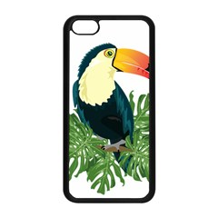 Tropical Birds Apple Iphone 5c Seamless Case (black)