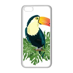 Tropical Birds Apple Iphone 5c Seamless Case (white)