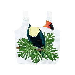 Tropical Birds Full Print Recycle Bag (s)