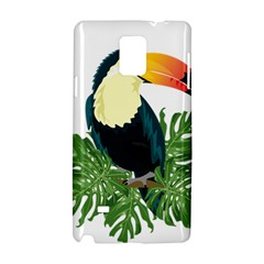 Tropical Birds Samsung Galaxy Note 4 Hardshell Case