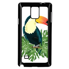 Tropical Birds Samsung Galaxy Note 4 Case (black)