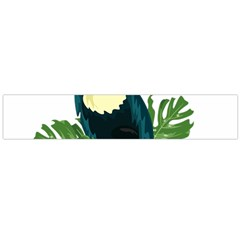 Tropical Birds Large Flano Scarf