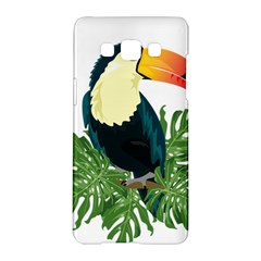 Tropical Birds Samsung Galaxy A5 Hardshell Case
