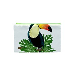 Tropical Birds Cosmetic Bag (xs)