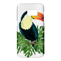 Tropical Birds Samsung Galaxy S7 Hardshell Case