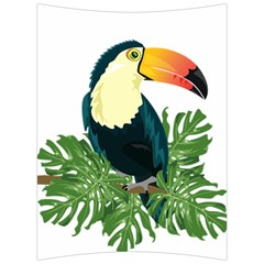 Tropical Birds Back Support Cushion