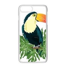 Tropical Birds Apple Iphone 8 Plus Seamless Case (white)