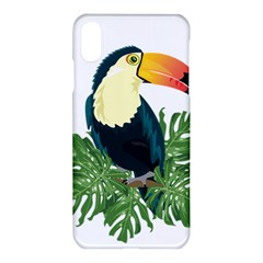 Tropical Birds Apple Iphone  Xs Max Hardshell Case