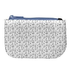 Wallpaper Note Tone Music Large Coin Purse