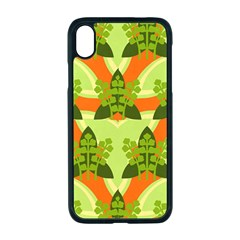 Texture Plant Herbs Herb Green Apple Iphone Xr Seamless Case (black)