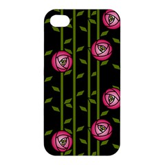 Rose Abstract Rose Garden Apple Iphone 4/4s Premium Hardshell Case