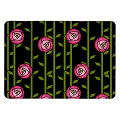 Rose Abstract Rose Garden Samsung Galaxy Tab 8 9  P7300 Flip Case by Pakrebo