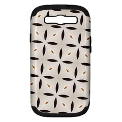 Texture Background Pattern Samsung Galaxy S Iii Hardshell Case (pc+silicone)
