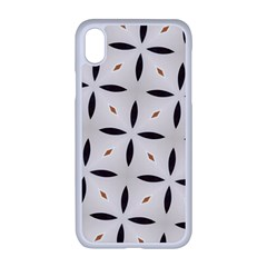 Texture Background Pattern Apple Iphone Xr Seamless Case (white)