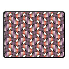 Pattern Abstract Fabric Wallpaper Fleece Blanket (small)