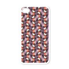 Pattern Abstract Fabric Wallpaper Apple Iphone 4 Case (white) by Pakrebo