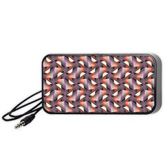 Pattern Abstract Fabric Wallpaper Portable Speaker