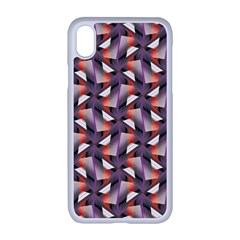 Pattern Abstract Fabric Wallpaper Apple Iphone Xr Seamless Case (white)