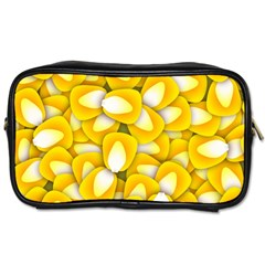Pattern Background Corn Kernels Toiletries Bag (two Sides)