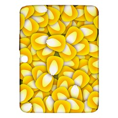 Pattern Background Corn Kernels Samsung Galaxy Tab 3 (10 1 ) P5200 Hardshell Case