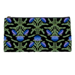 Pattern Thistle Structure Texture Pencil Cases