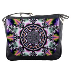 Pattern Abstract Background Art Messenger Bag
