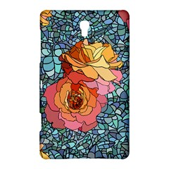 Pattern Rose Yellow Background Samsung Galaxy Tab S (8 4 ) Hardshell Case
