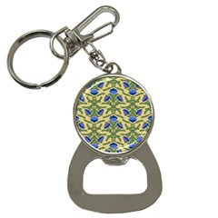 Pattern Thistle Structure Texture Bottle Opener Key Chains by Pakrebo