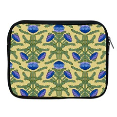Pattern Thistle Structure Texture Apple Ipad 2/3/4 Zipper Cases