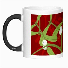 Mistletoe Christmas Texture Advent Morph Mugs
