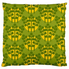 Texture Plant Herbs Herb Green Large Flano Cushion Case (one Side)