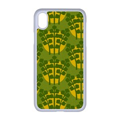 Texture Plant Herbs Herb Green Apple Iphone Xr Seamless Case (white)
