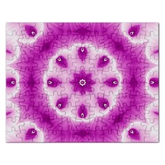 Pattern Abstract Background Art Purple Rectangular Jigsaw Puzzl