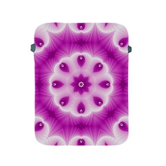 Pattern Abstract Background Art Purple Apple Ipad 2/3/4 Protective Soft Cases