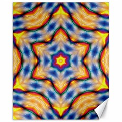 Pattern Abstract Background Art Canvas 16  X 20