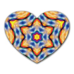 Pattern Abstract Background Art Heart Mousepads