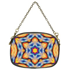 Pattern Abstract Background Art Chain Purse (two Sides)