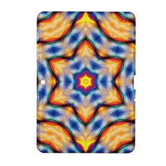 Pattern Abstract Background Art Samsung Galaxy Tab 2 (10 1 ) P5100 Hardshell Case  by Pakrebo