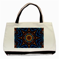 Pattern Abstract Background Art Basic Tote Bag (two Sides)