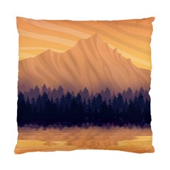 Landscape Nature Mountains Sky Standard Cushion Case (one Side)