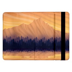 Landscape Nature Mountains Sky Samsung Galaxy Tab Pro 12 2  Flip Case