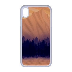 Landscape Nature Mountains Sky Apple Iphone Xr Seamless Case (white)