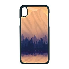 Landscape Nature Mountains Sky Apple Iphone Xr Seamless Case (black)