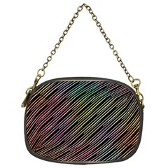 Pattern Abstract Desktop Fabric Chain Purse (one Side)