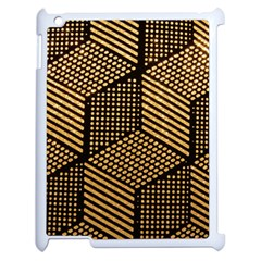 Cubes Light Geometry Shines Apple Ipad 2 Case (white)