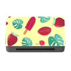 Watermelon Leaves Strawberry Memory Card Reader With Cf